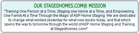 StagedHomes.com Mission Statement