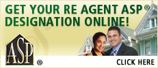Get Your RE Agent ASP Designation Online